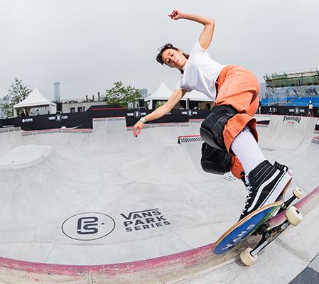 VANS职业公园滑板赛巡回赛上海站场地开放体验啦!