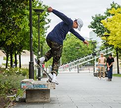 巴黎——在文化和艺术丛林中的滑板冒险