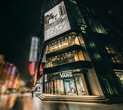 全球第一家Vans智慧零售店铺登陆上海,传递多样品牌文化