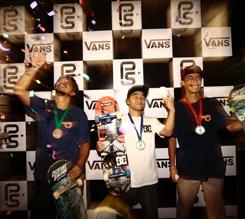 2017 VANS 职业公园滑板赛亚洲洲际冠军锦标赛新加坡站落下帷幕