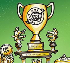 VANS BMX职业杯系列赛 2019 年度职业巡回赛程公布