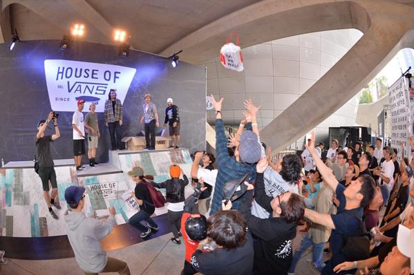 五点理由,让你无法抗拒到 House of Vans 体验滑板