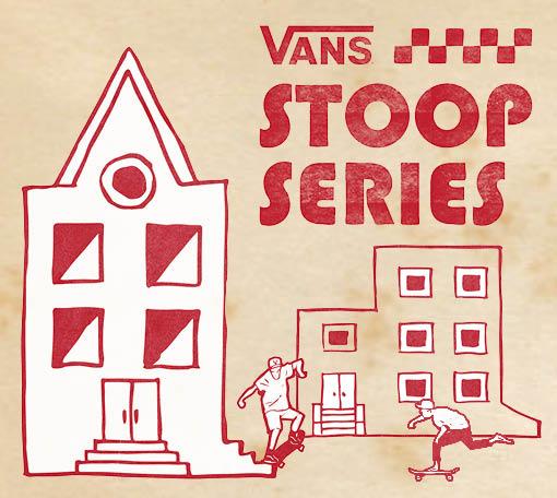 "VANS 打造THE STOOP SERIES ""一场在你家门口的滑板比赛"""