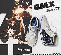 VANS SK8-HI PRO BMX 职业小轮车鞋款