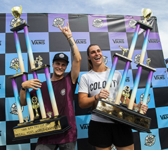 JASON WATTS 和 NATALYA DIEHM 加冕2019年度 VANS BMX 职业杯系列赛冠军