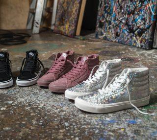 VANS发布新一季SK8-HI鞋款产品