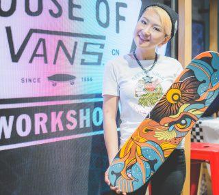 HOUSE OF VANS滑板绘画WORKSHOP即将登陆正大广场!